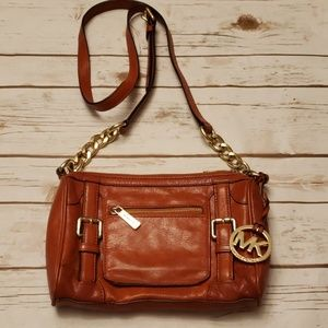 Michael Kors Crossbody Leather Bag